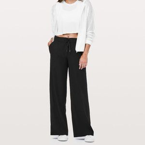 Lululemon On The Fly Wide Leg Pants